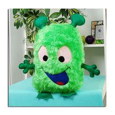 Alien Monster cushion plushy toy alien monster by JOLLYSAM on Etsy, £14.99