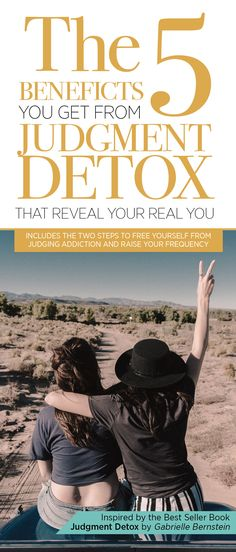 The 5 Benefits You Get from Judgment Detox that Reveal your Real You-The 5 Gifts you get when you avoid to judging other people and yourself Spiritual Warrior, Spiritual Growth, Judgement Quotes, Gabrielle Bernstein, Wellness Club, Working On Me, Happiness Challenge, Judging Others, Anxiety Help