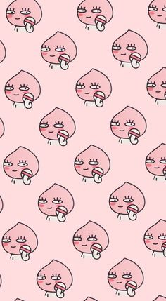 Find images and videos about cute, pink and wallpaper on We Heart It - the app to get lost in what you love. Cute Wallpaper Backgrounds, Wallpaper Iphone Cute, Aesthetic Iphone Wallpaper, Aesthetic Wallpapers, Wallpapers Kawaii, Kawaii Wallpaper, Cute Cartoon Wallpapers, Apeach Kakao, Cute But Psycho