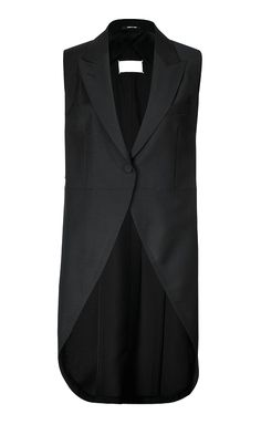 Maison Martin Margiela | mohair wool vest with back ties