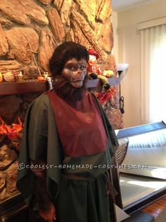 Old School Planet of the Apes Costume... Coolest Homemade Costumes