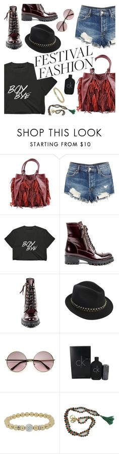 Pack and Go: SXSW by dorota-beglam on Polyvore featuring moda, Free People, Versace 19•69, Zadig & Voltaire, Calvin Klein, festivalstyle, Packandgo and SXSW