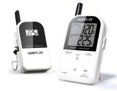 Ivation Long Range Wireless Digital Thermometer Set - Dual Probe - Remote BBQ / Smoker / Grill / Oven / Meat / Thermometer - Monitor your Food From up to 300 feet away by Ivation http://www.amazon.com/gp/product/B00ANCXJR6?ie=UTF8&camp=1789&creativeASIN=B00ANCXJR6&linkCode=xm2&tag=facetatyherlp-20