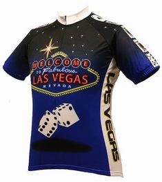 154b99373 World Jerseys Men s Las Vegas Cycling Jersey