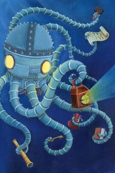 Mechanical Octopus – Once upon a picture: Images to inspire
