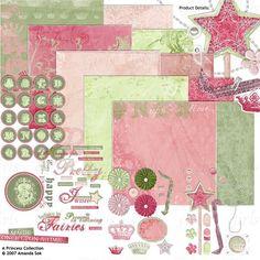 Princess Digital Scrapbooking Kit