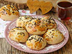 Acil Durum Poğaçası Tarifi (Resimli Anlatım) | Yemek Tarifleri Bagel, Tart, Muffin, Food And Drink, Pizza, Bread, Cooking, Breakfast, Desserts