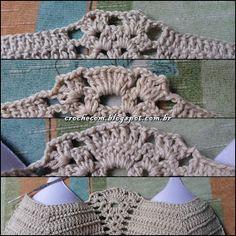 This Pin was discovered by Eli Bikinis Crochet, Crochet Bikini Top, Crochet Top, Crochet Hats, Crochet Romper, Crochet Halter Tops, Bikini Pattern, Summer Patterns, Short Tops