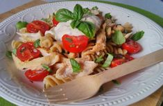 Pasta Salad, Meal Prep, Tacos, Meals, Chicken, Cooking, Ethnic Recipes, Food, Diets