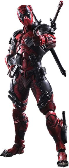 Square Enix Marvel Universe Variant Deadpool Play Arts Kai Action Figure From Square Enix. Deadpool, based on Marvel Comics, Marvel Heroes, Marvel Cinematic, Marvel Avengers, Deadpool Comics, Dead Pool, Deadpool Film, Deadpool Photos, Deadpool Superhero