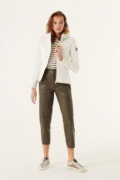 Colmar Damen Steppjacke Advanced Bianco-Firefly | SAILERstyle Outfit, Capri Pants, Fashion, Jackets, Clothing, Outfits, Moda, Capri Trousers, Fashion Styles