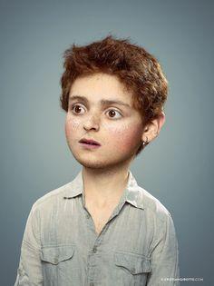 L'Enfant Extérieur by Cristian Girotto, via Behance #retouche #retoque #fotomanipulación