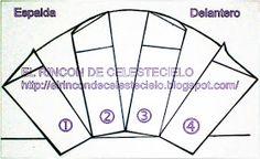 El Rincon De Celestecielo: Patrones para otros tipos de mangas cortas fruncidas Couture, Cards, Base, Diy, Breakfast Nook, Sewing Techniques, Doll Clothes, Sewing Patterns, Sleeve Types