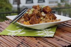 Crispy Glazed Tofu with Warm Quinoa | 13 Vegan Recipes Even Picky Eaters Will Love