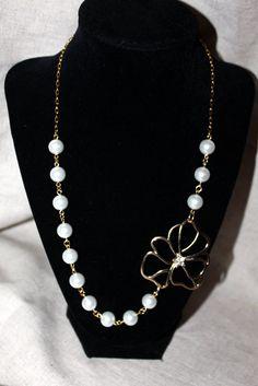 Pearl Asymmetrical Bridesmaid Bridal by LINDABJEWELRYDESIGNS, $28.00