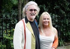 Billy Connolly with his wife Pamela Stephenson. Picture: Getty
