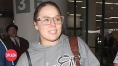 Ronda Rousey Refuses to Sign Autographs at LAX | Daily Celebrity News | Splash TV