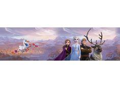 Jégvarázs elvarázsolt erdő bordűr, 14 cm Olaf, Frozen, Anna, Painting, Painting Art, Paintings, Painted Canvas, Drawings