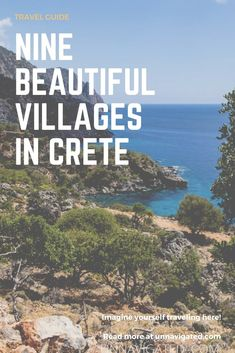 Nine villages in Crete that show the beauty of the Greek islands
