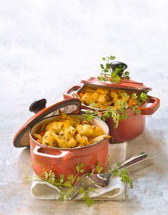 Cocottes de lieu jaune aux épices - Gourmand : recettes de cuisine