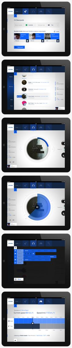 wave |||| iPad application by Gianpaolo Tucci, via Behance