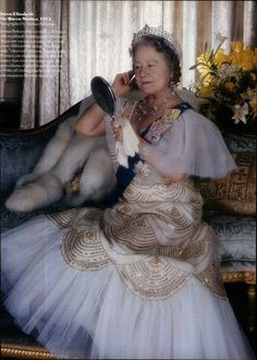 Queen Elizabeth, The Queen Mother - 1975