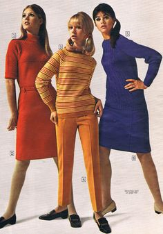 Sears catalog 1967. Terry Reno, Cay Sanderson and Colleen Corby.