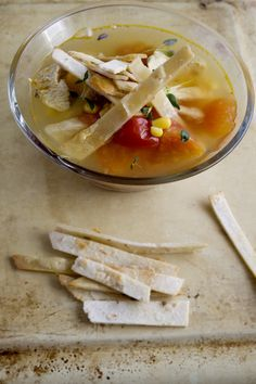 Gluten free tortilla soup.