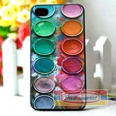 Water color paint set iPhone 4/4s iPhone 5/5s/5c by Indomaret, $10.00