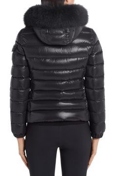 Moncler Black Badyfur Quilted Down Puffer with Removable Genuine Fox Fur Trim Jacket Size OS (one size) Spring Jackets, Winter Jackets, Moncler Jacket Women, Fox Fur, Puffer Jackets, Fur Trim, Stay Warm, Nordstrom, Sporty