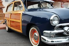 '51 Ford Country Squire Woody