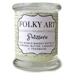 PATISSERIE - 12 OZ JAR CANDLE