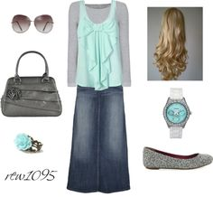 """""""Teal"""" by rew1095 ❤ liked on Polyvore"""