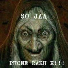 So jao warna churail ajai gi 😂😂😂😂😂😂😂😂 Funny Quotes In Hindi, Desi Quotes, Funny Attitude Quotes, Jokes Quotes, Swag Quotes, Stupid Quotes, Funny School Jokes, Very Funny Jokes, Crazy Funny Memes