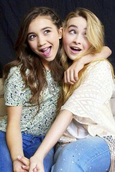Besties forever Sabrina and Rowan