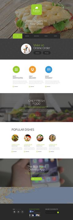 Food Delivery Services Website #Joomla #template. #themes #business #responsive…