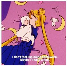 Sailor Moon. My childhood role model, ladies and gentleman.