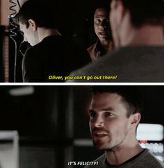 Arrow - Oliver & Diggle #3x19 #Season3