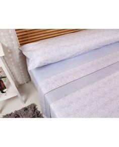 Juego de sábanas con diseño clásico en malva y a un precio fantástico. Todas las medidas de cama. Somos especialistas en sábanas. Recibe tus sábanas en 24/48 h.