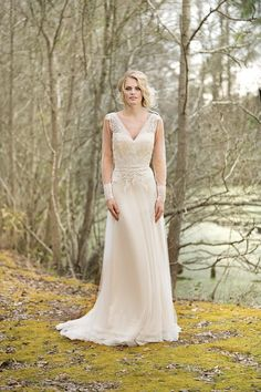 The Blushing Bride Boutique is one of the largest Retailers in Texas for Lillian West Wedding Gowns! You'll find in our Lillian West Collection an assortment of Ultra Boho Styles, Romantic … Lillian West, Spring 2017 Wedding Dresses, Wedding Dresses Photos, Bridal Dresses, Boho Chic Wedding Dress, Wedding Dress Trends, Wedding Gowns With Sleeves, Long Sleeve Wedding, Wedding Gown Gallery