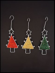 Bead & Wire Tree Ornament - South Africa