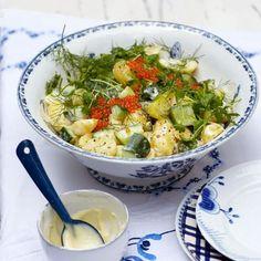 Rezept: Kartoffel-Gurken-Salat - [LIVING AT HOME]