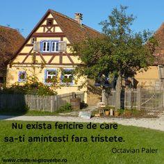 #fericire #tristete #paler Cabin, House Styles, Quotes, Home Decor, Quotations, Decoration Home, Room Decor, Cabins, Cottage