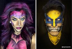 This Makeup Artist Can Transform Himself Into Any Superhero