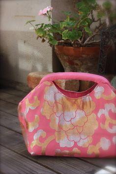Obi / Kimono / Purse / PK478 Beautiful Flower by RummyHandmade, $65.00