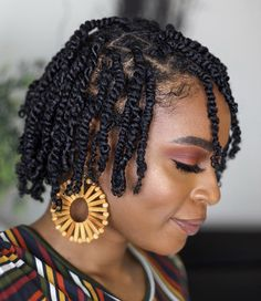 Great Ideas Natural Hair Styles How can I go natural without cutting my hair? Coiling Natural Hair, Natural Hair Braids, Braids For Black Hair, Twist On Natural Hair, Natural Twists, Hair Twist Styles, Curly Hair Styles, Natural Hair Styles, Braided Hairstyles