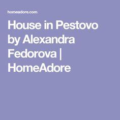 Contemporary single family residence located in Pestovo, Russia, designed by Alexandra Fedorova. Villa, Nice, House, Design, Haus, Nice France, Design Comics, Villas, Home