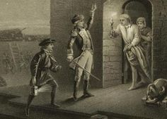 American Revolution: Capture of Fort Ticonderoga: Ethan Allen captures Fort Ticonderoga, May 10, 1775