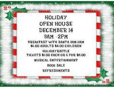 Holiday Open House - Boone Area Library, Birdsboro, PA - 12/14