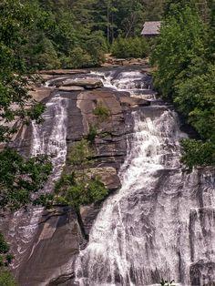 High Falls, Dupont State Forest, North Carolina - I've been here before :) Dupont State Forest, High Falls, North Carolina Mountains, Back Road, Beautiful Waterfalls, Sweet Memories, Road Trips, Travel Usa, Roads